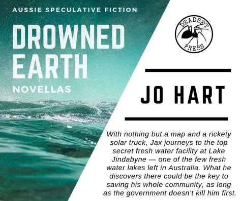 Drowned Earth Novellas promo full Jo Hart